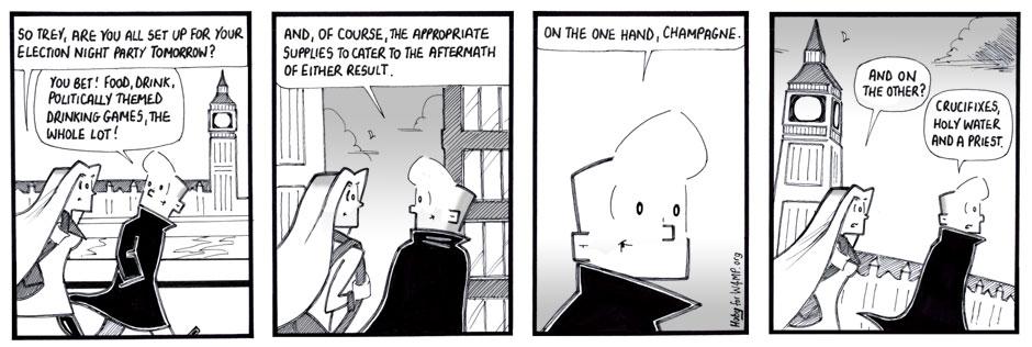 Hoby Cartoon for November 2016