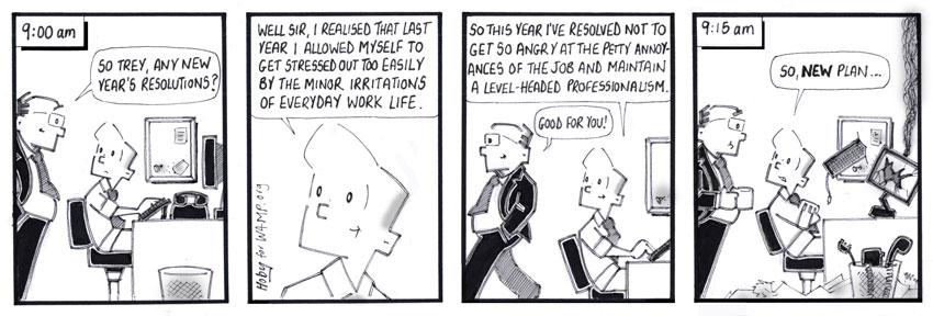 Hoby Cartoon for January 2014