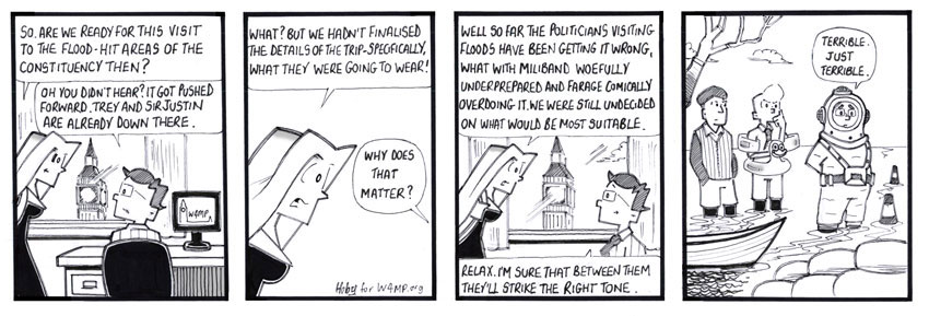 Hoby Cartoon for March 2014