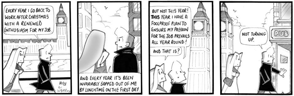 Hoby Cartoon for January 2015