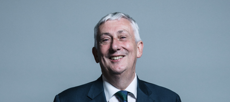 Sir Lindsay Hoyle, Speaker of the House of Commons